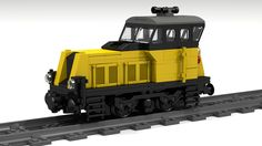 Lego City Train, Lego Trains, Lego Military, Lego Models, Lego Stuff, Lego Creations, Diesel Engine, Locomotive, Cyber