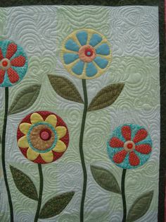 applique quilts | Applique Before or During Quilting? -