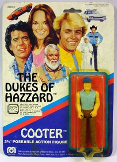 Dukes of Hazzard LUKE DUKE Custom Carded Minifigure Display Mini-Figure