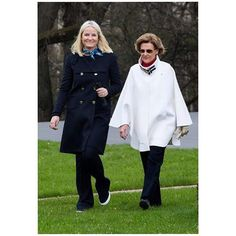 April 26 2016 . The Queen and Crown Princess of Norway attended the launch of Norway's Yearly Telethon.