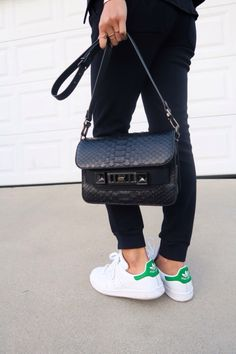 Proenza Schouler Bag and Stan Smith