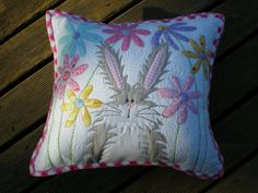 honey bunny pillow