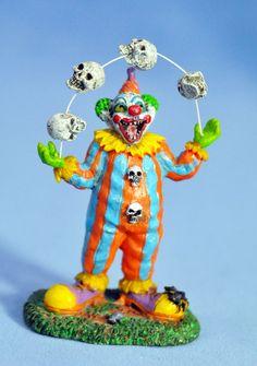 "Lemax Spooky Town ""Evil Clown Juggler"""
