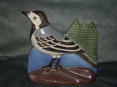 Heinz Schlichting Ceramic Wall Plaque BIRD Ego Stengods 7 x 7 Wall Plaques, Spoon Rest, Ceramics, Bird, Ebay, Ceramica, Pottery, Ceramic Art, Birds