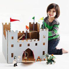 12 ideias brinquedos feitos caixa papelao reciclagem atividade criancas brincar em casa (12)