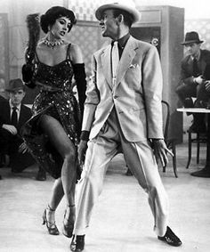 "Cyd Charisse and Fred Astaire....Oh Yes!!  They Look So Great Together, A Still Is Good Enought To ""See"" Them Dance In Your Head!!  Loved Them Both On Screen...Legends, Together!!"