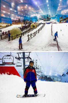 Ski Dubai! Read our top 10 things to do in Dubai!