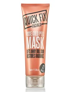 Buy Quick Fix Facials Rose Gold Peel Mask and Collect 4 Advantage Card Points when you spend Face Masks For Kids, Glow Mask, Dull Skin, Homemade Face Masks, Skin Care Tips, Rose Gold, Boots, Facials, Crotch Boots
