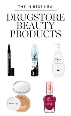 These are the best drugstore beauty buys.