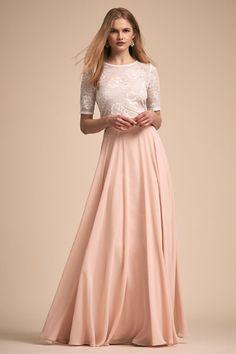 fbb3f602bc9f Comelia Top & Hampton Skirt   BHLDN Bridesmaid Separates, Blush Bridesmaid  Dresses, Bride Dresses