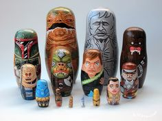 Andy Stattmiller – Pop Culture Nesting Dolls