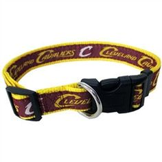 Cleveland Cavailers Dog Collar and Leash - BD Luxe Dogs & Supplies