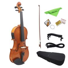 Glorious Gift Violin Fiddle Toy Simulation Violin Toy Portable Educational Violin Musical Instrument Black+red Plastic Learning Clear And Distinctive Action & Toy Figures