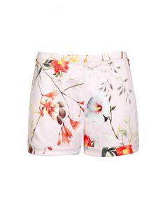 Botanical bloom short - Pale Pink | Trousers & Shorts | Ted Baker UK