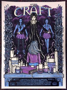 Horror Movie Poster Art : The Craft 1996 by Jon Sanchez Horror Movie Posters, Movie Poster Art, Poster S, Horror Films, Poster Prints, Classic Horror Movies, Cool Halloween Costumes, Halloween Art, Halloween Makeup