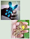 Tiny bear to go with mjni spirit doll.Mini amigurumi kanin - gratis mönster från Annie's Granny Design