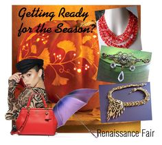 """""""Getting ready for the season?"""" by renaissance-fair ❤ liked on Polyvore featuring Black, Hobé and Poster Grl"""