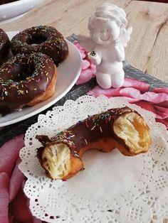 Helenkine dobroty - Donuty, šišky zemiakové kváskové i drožďové Pancakes, Breakfast, Food, Basket, Morning Coffee, Pancake, Essen, Yemek, Morning Breakfast