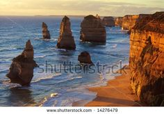 The Twelve Apostles, Great Ocean Road, Australia  Google Image Result for http://image.shutterstock.com/display_pic_with_logo/197911/197911,1214649955,4/stock-photo-twelve-apostles-great-ocean-road-australia-14276479.jpg
