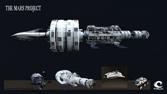 The Mars Project-Spaceship by MASCH-ARTDesign.deviantart.com on @DeviantArt