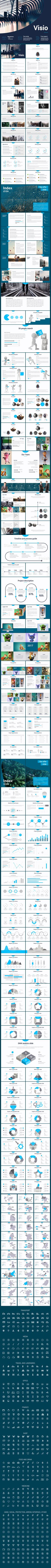Visio Powerpoint template - Business PowerPoint Templates