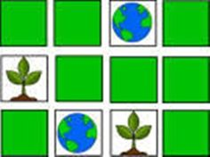 Earth Day Memory Game for Kids #EarthDay #preschool #daycare