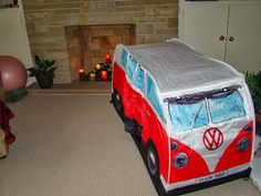 1965 V.W. C&er Van Play Tent by The Monster Factory Review & The Monster Factory USA [Volkswagen Kids Tent Review] | ?Products ...