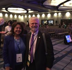 Friday Annual ATA meeting a pic with a board member #picturechallenge #ata57