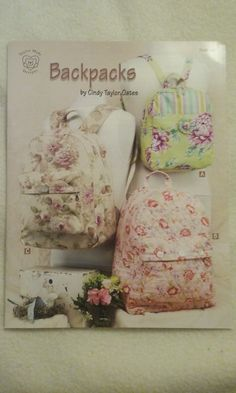 Check out this item in my Etsy shop https://www.etsy.com/listing/285731581/backpacks-book-of-5-backpack-patterns-by
