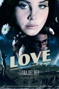 Lana Del Rey Love promotional poster