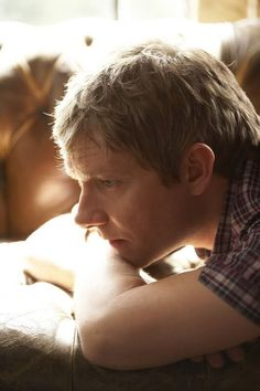 Martin Freeman - doesn't he look lovely in the light.