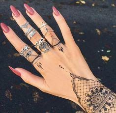 henna tattoos henna ideas nails rings