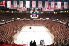 Joe Louis Arena, Detroit Red Wings, Detriot MI.