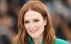 Download wallpapers Julianne Moore, 4k, portrait, Hollywood, american actress, beauty, blonde