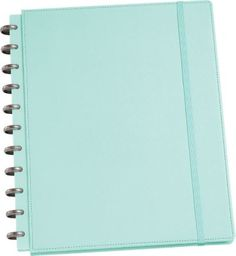 Martha Stewart Home Office™ with Avery™ Discbound Textured, Blue Notebook, 9.5 x 11.5 [$24]