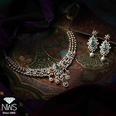 Look at these real diamond necklace . Dimond Necklace, Diamond Necklace Simple, Diamond Pendant, Diamond Jewelry, Gold Jewelry, India Jewelry, Gold Earrings, Ruby Necklace, Statement Jewelry