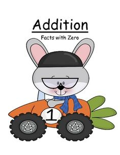 Math Center Game ~ Addition ~ Facts with Zero Concept!