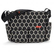 Our personalized wave dot diaper bags by Skip Hop have lots of features and will help keep mom and baby organized. Personalized diaper bags that are both classy & well made, all while still affordable. Quality you can trust in a Skip Hop Diaper Bag. Onyx Tile, Messenger Diaper Bags, Best Diaper Bag, Stroller Bag, Changing Bag, Changing Tables, Work Bags, Everything Baby, Baby Gear