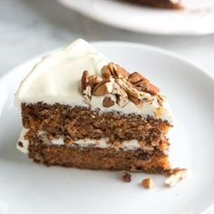An incredibly moist and light carrot cake recipe with extra simple cream cheese frosting.