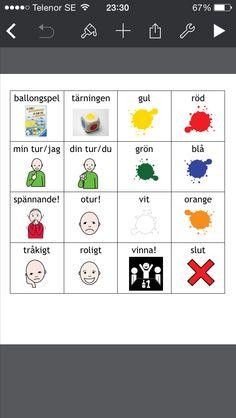 Från Darts hemsida. Bildstod till ballongspelet, http://www.dart-gbg.org/tips_material/tm_bild_symbolmaterial/tm_bild_symbolmaterial_komhit/lekterapi