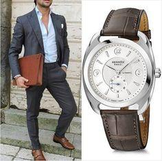 """HERMES DRESSAGE Lüks saat dünyasının en önemli oyuncularından olan Hermes, Dressage modeli ile erkeklerin gönlünde taht kuruyor. Ürün Kodu: W037805WW00 www.permun.com %100 Güvenli Online Satış Mağazamız: www.markasaatler.com/hermes-c48.html """"Orjinal Ürün / Aynı Gün Kargo"""" Tel: 0 (224) 241 31 31 #Hermes #style #fashion #fashionista #watchmania #watchporn #watch #watches #watchturkey #horology #hediye """