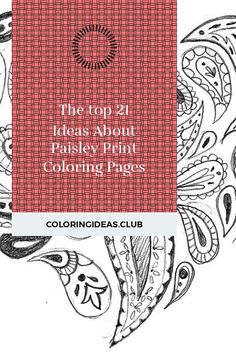 The top 21 Ideas About Paisley Print Coloring Pages . Coloring pages as well as printables for kids of all agesThe Hellokids printables is not only enjoyable but has numerous … Paisley Coloring Pages, Free Adult Coloring Pages, Pattern Coloring Pages, Coloring Pages To Print, Free Printable Coloring Pages, Coloring Sheets, Coloring Books, Paisley Design, Paisley Print