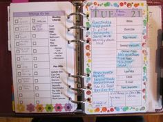 A bunch of printable planner refills.