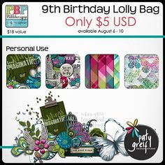 Lolly Bag 1 - PU {by Paty Greif}