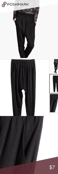H&M Black Harem Pants ✨ H&M Pants Track Pants & Joggers