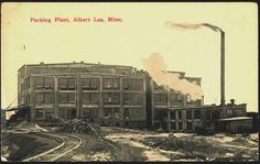 Wilson's Packing Plant in 1914.