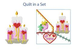 Valentine Treats Machine Embroidery Designs http://www.designsbysick.com/details/valentinetreats