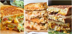 9 Party Dips Reinvented As Paninis  - OMGosh, these look aMAZEing!