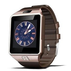 Bluetooth Smart Watch Digital Sport Smartwatch for Android Phones iPhone 66s Samsung HTC Gold * Read more at the affiliate link Amazon.com on image.