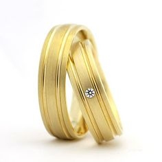 Cheap ring set, Buy Quality wedding band directly from China wedding band ring Suppliers: 2014 new jewelry his and hers Gold Plating titanium engagement wedding bands rings sets Bijoux Louis Vuitton, Wedding Accessories, Wedding Jewelry, Wedding Engagement, Engagement Rings, Lasting Love, Cheap Rings, Diy Home Crafts, Gold Bangles